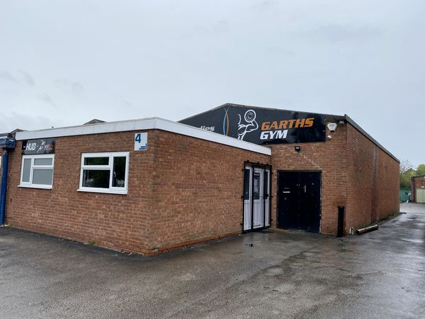 Garth's Gym Future Bodies on Power Station Road in Rugeley