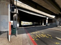 Woman killed in motorbike crash while crossing Oldbury road