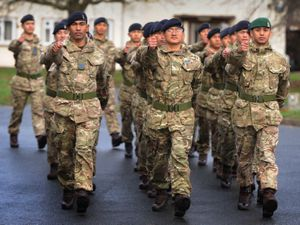247 Gurkha Signal Squadron at Beacon Barracks, Stafford