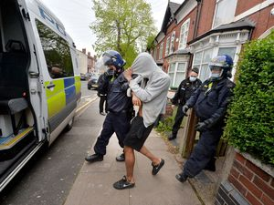 Almost 50 addresses were raided with dozens of arrests made
