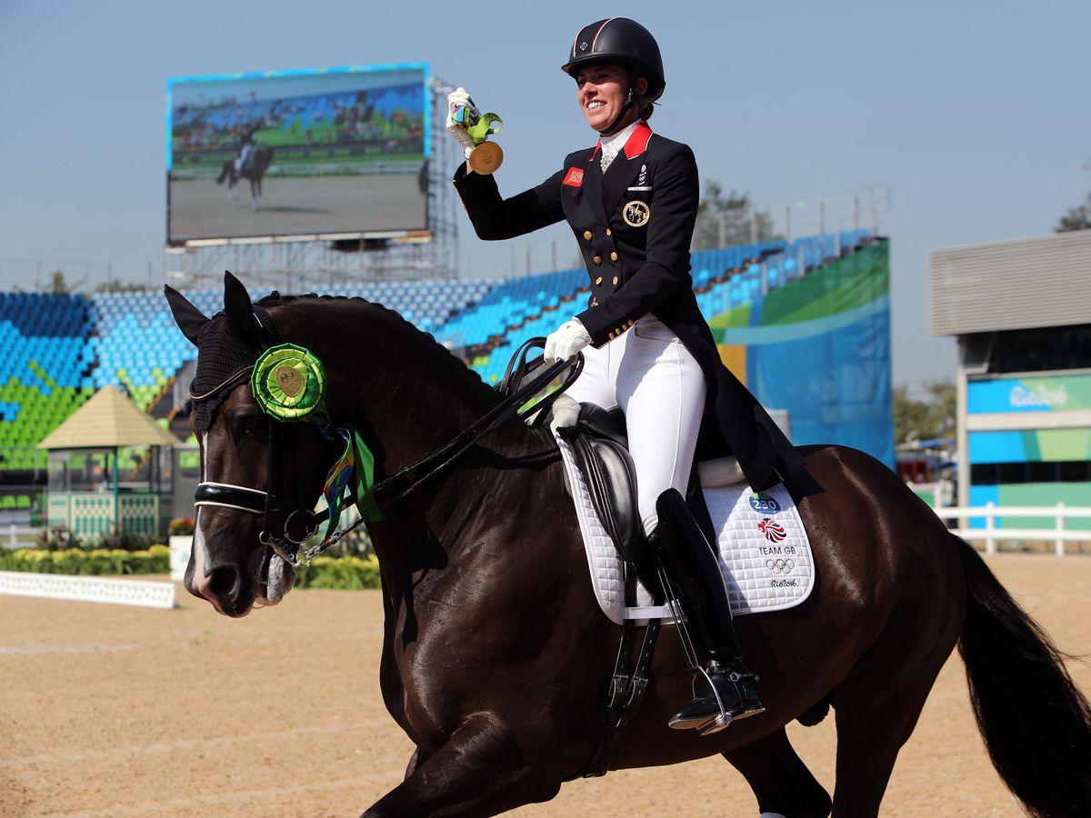 Charlotte Dujardin at the Rio Olympics