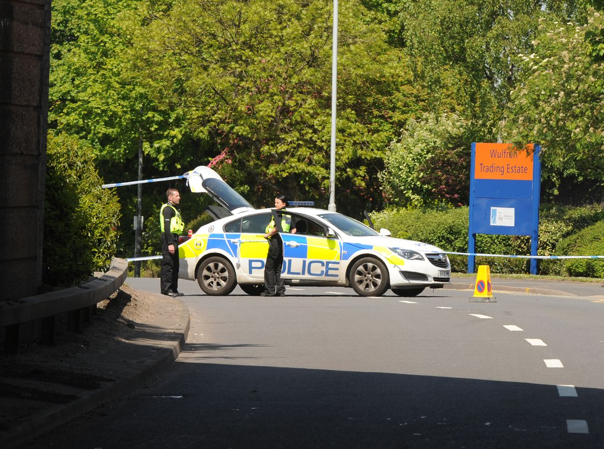 The collision happened at around 11am in Stafford Road