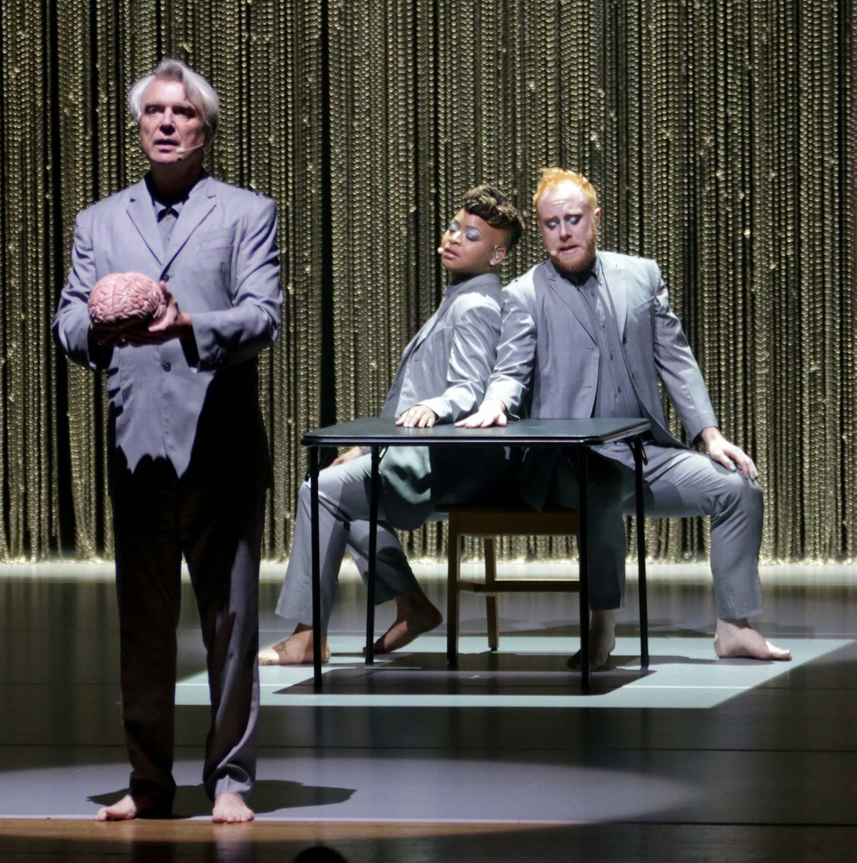 David Byrne. Pictures by: Andy Shaw