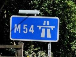 Emergency pothole repairs bring M54 delays