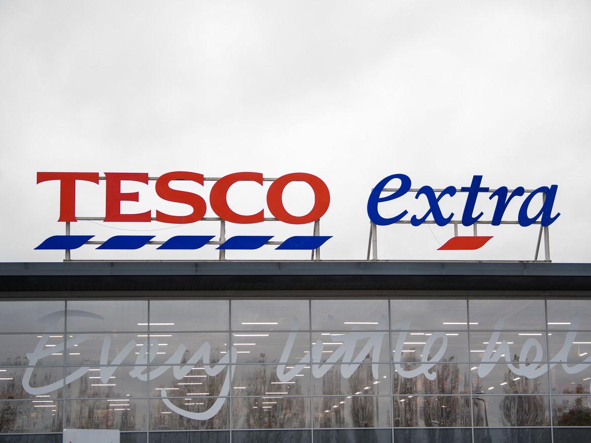 A Tesco Extra store