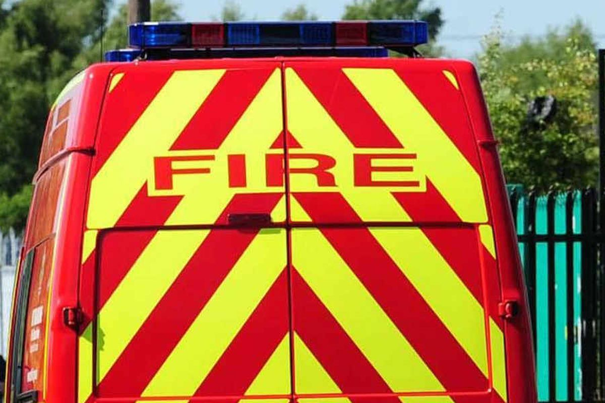 Three coaches destroyed in Great Bridge fire