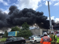 Smoke billows over Black Country as firefighters tackle huge blaze