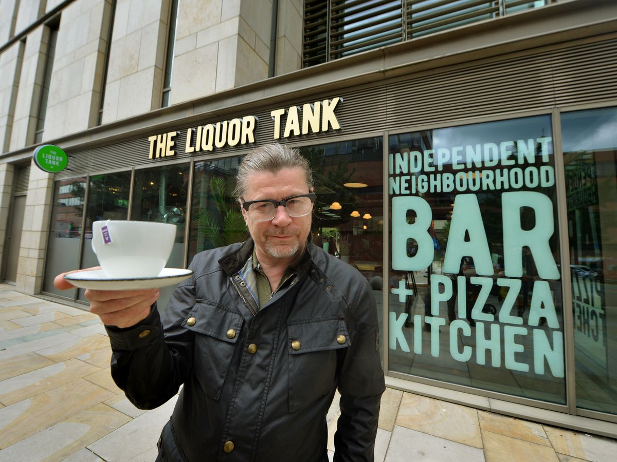 Mark Morris said he wanted to bring a chilled atmosphere and a varied menu of food and drink to Stafford