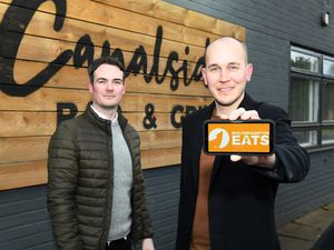 Matt Brown and Ben Woodall, founders ofWolverhampton Eats
