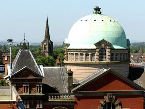 The famous dome at Darlington Street Methodist Church in Wolverhampton