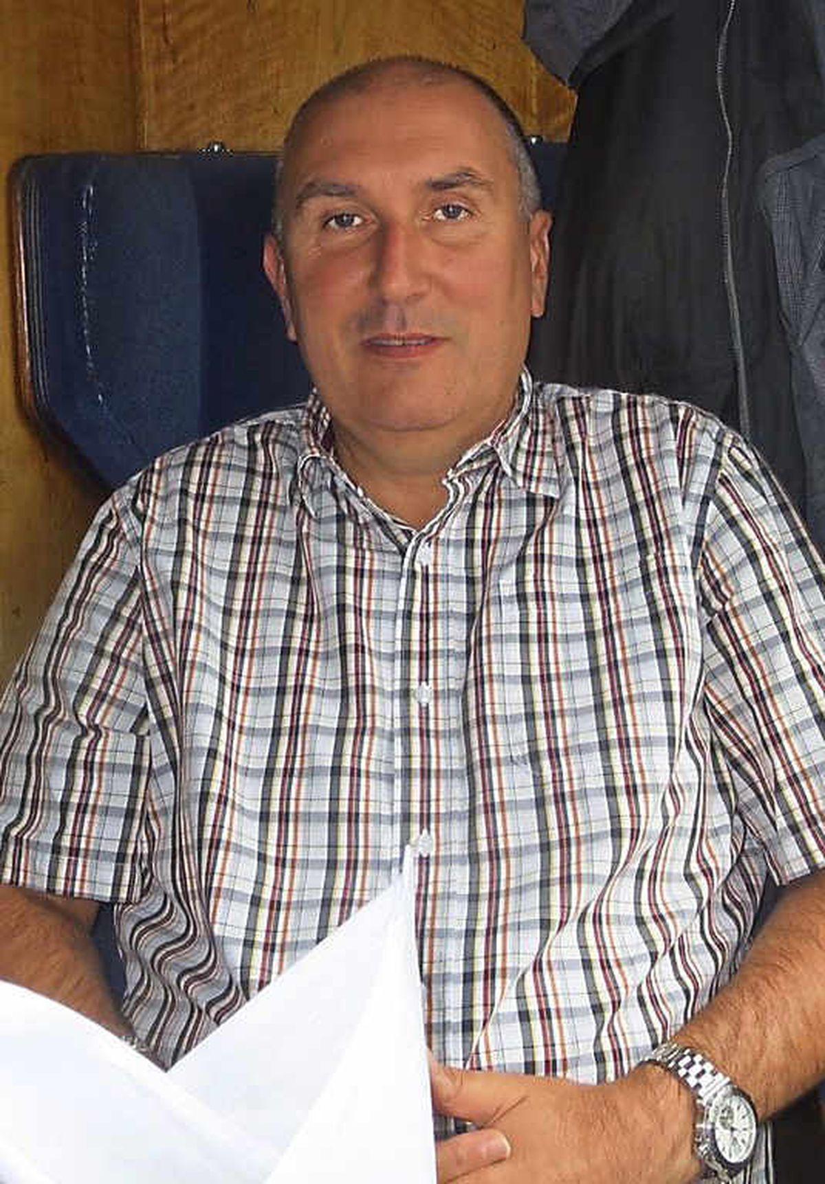Sales manager Steve Jones