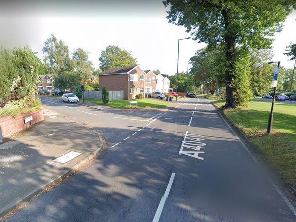 Harborne Park Road, near the junction of Denis Drive, in Harborne. Photo: Google Maps