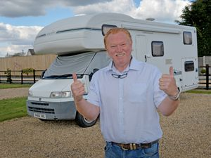 Owner Bill Thompson at Stable Park Holiday Park and Caravan Storage