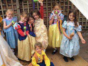 Pupils enjoying the playground