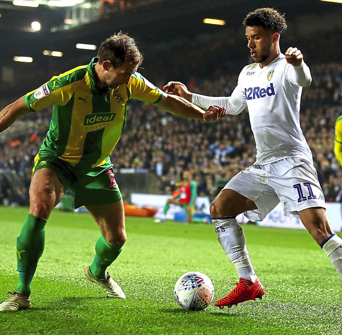 Tyler Roberts was man of the match and set up two Leeds goals. (AMA)