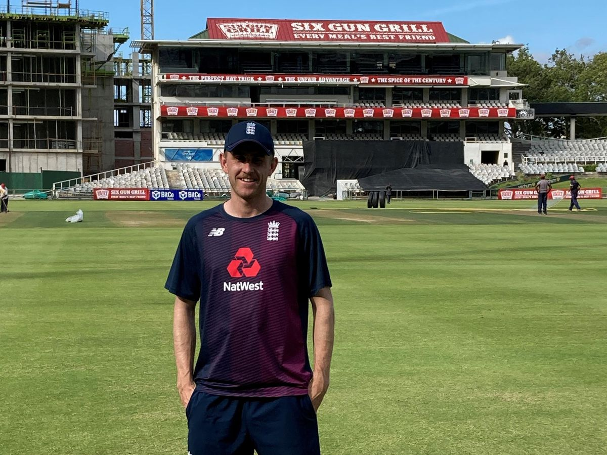 England paceman Olly Stone