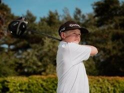 Golf ace Ben Bolton tracking Tiger