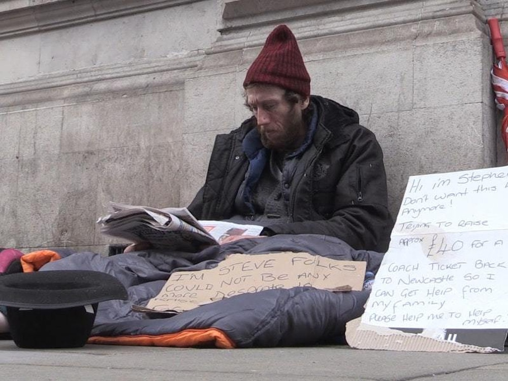 Rising homelessness figures prompt 'crisis' warning from Christian charity