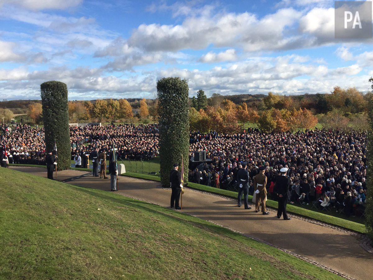 The National Memorial Arboretum. Credit: PA