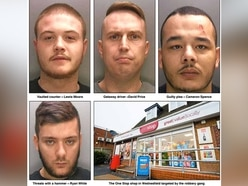 Armed One Stop robbers jailed after dramatic Wolverhampton police chase