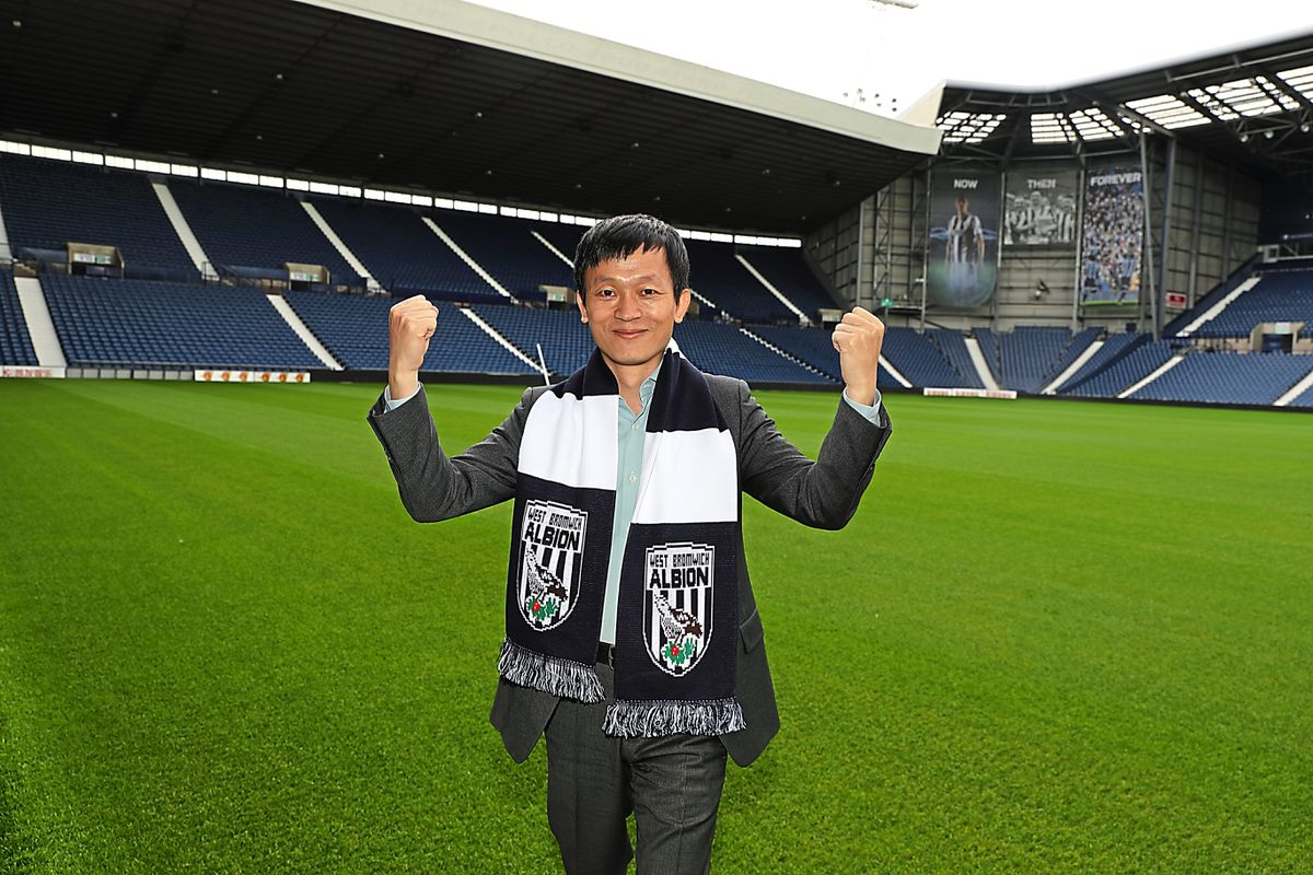 Guochuan Lai visits The Hawthorns Stadium, home of West Bromwich Albion