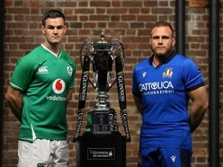Irish rugby chiefs 'will comply with whatever directive is issued' on Italy game