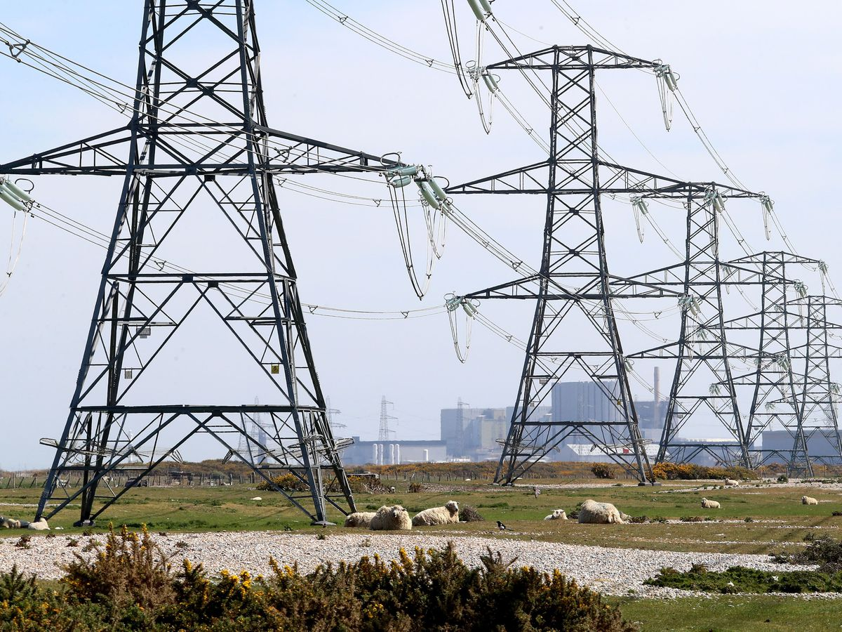National Grid pylons