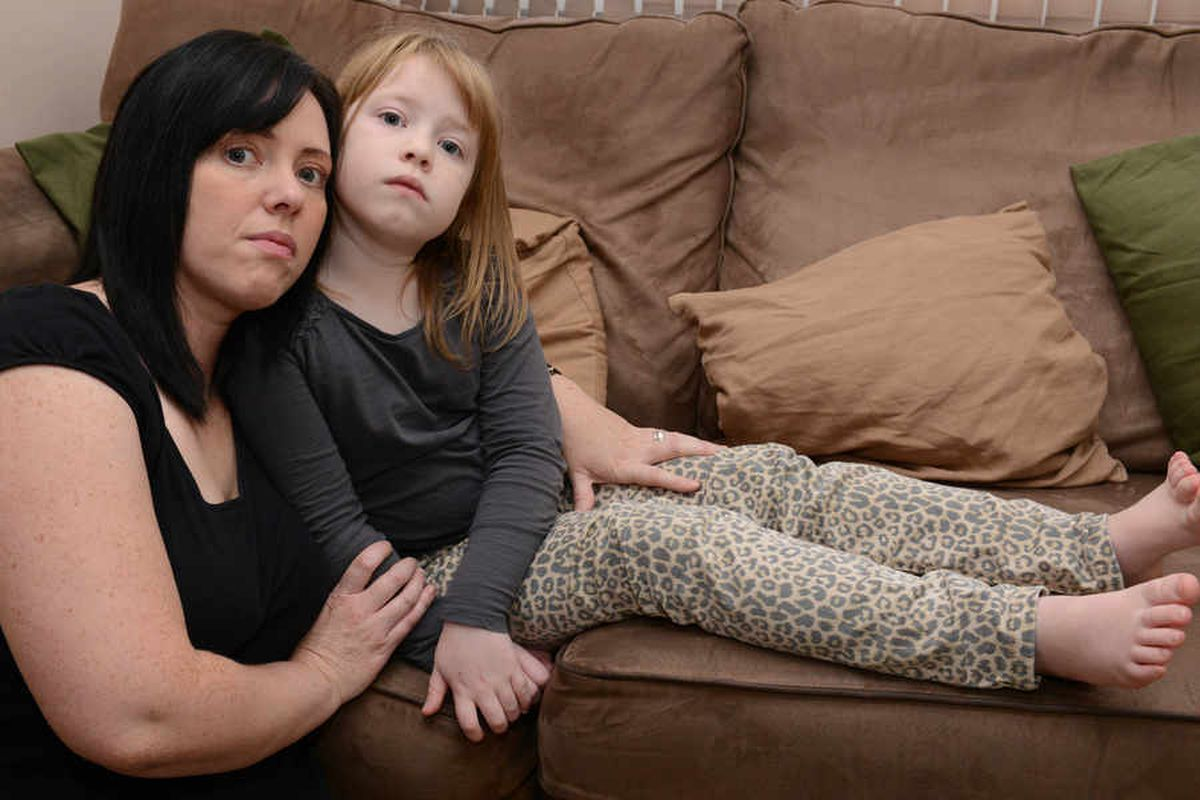 Mother tells of anger as daughter, seven, hit by firework