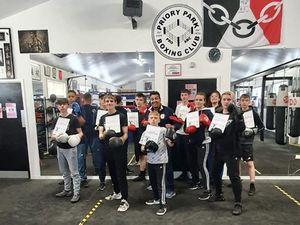 Priory Park Boxing Club.