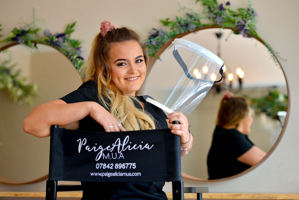 Paige's salon specialises in skin treatments which are still not permitted