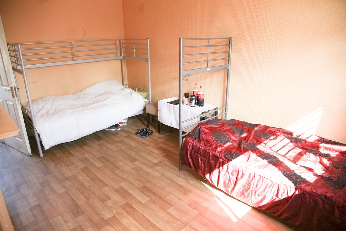 Living conditions said to be for staff