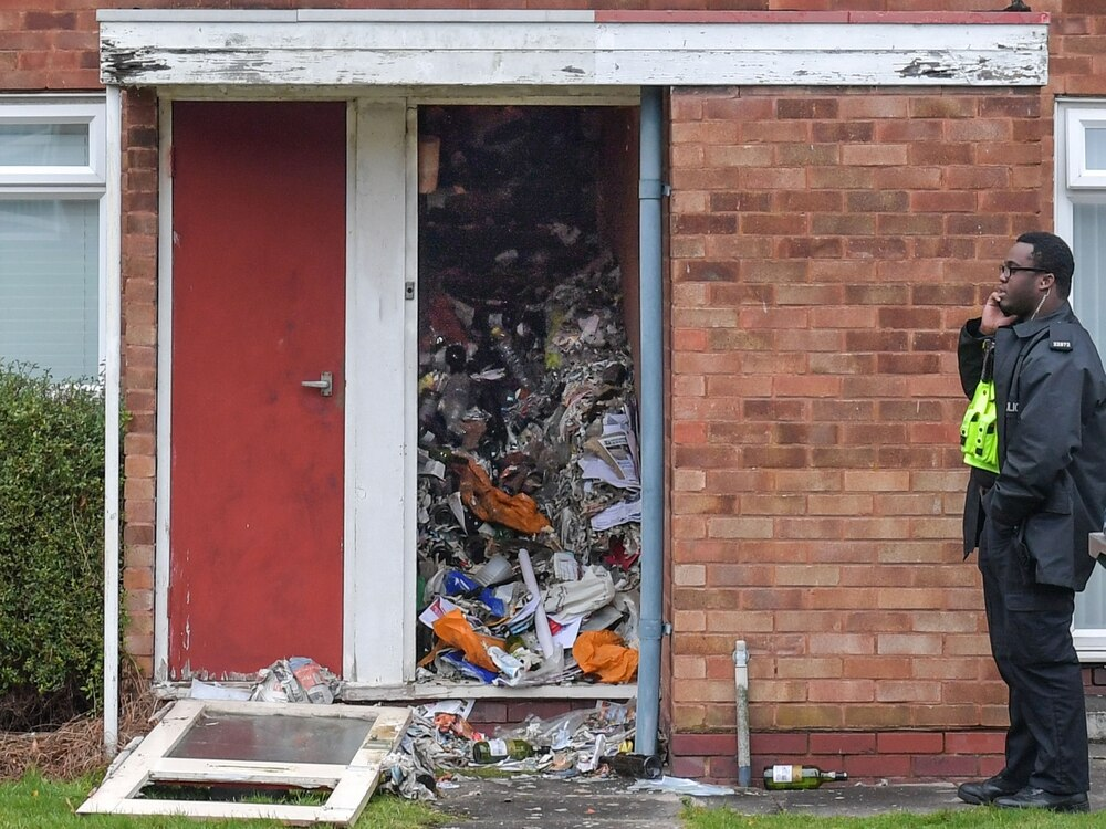 Three trucks full of waste removed to retrieve body from hoarder's home