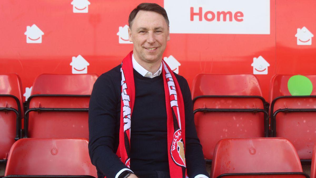 Jamie Fullarton. Picture: Walsall FC