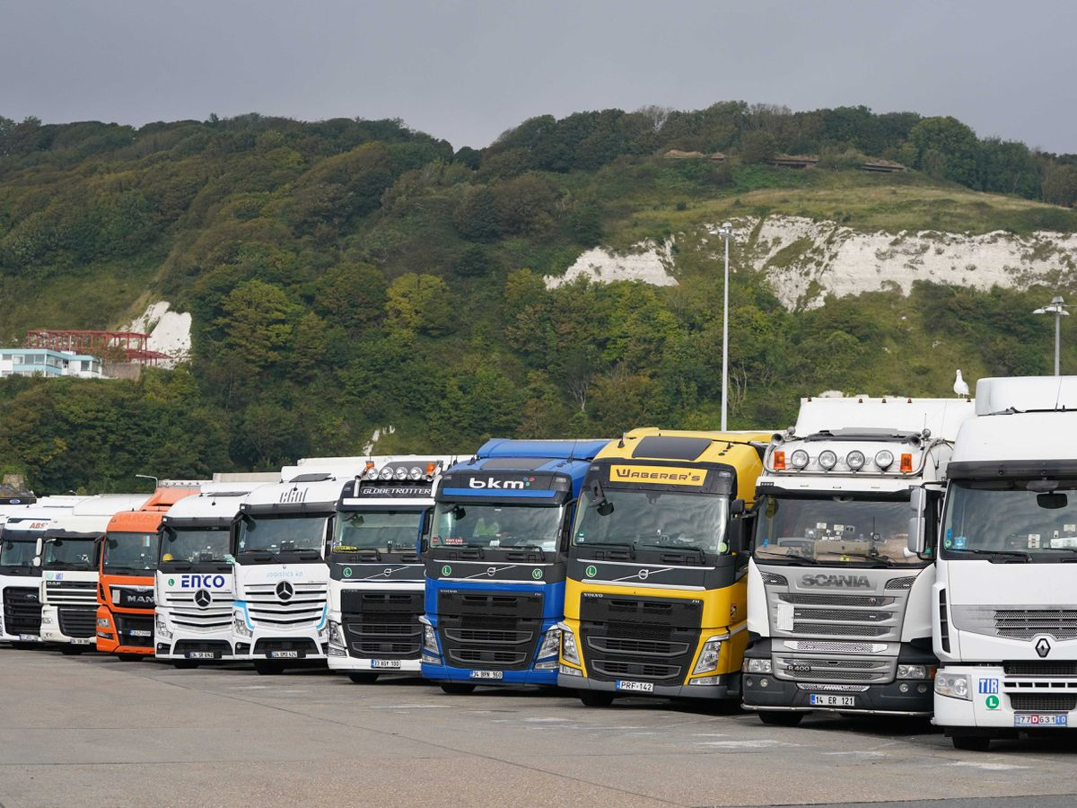 Lorry driver shortage