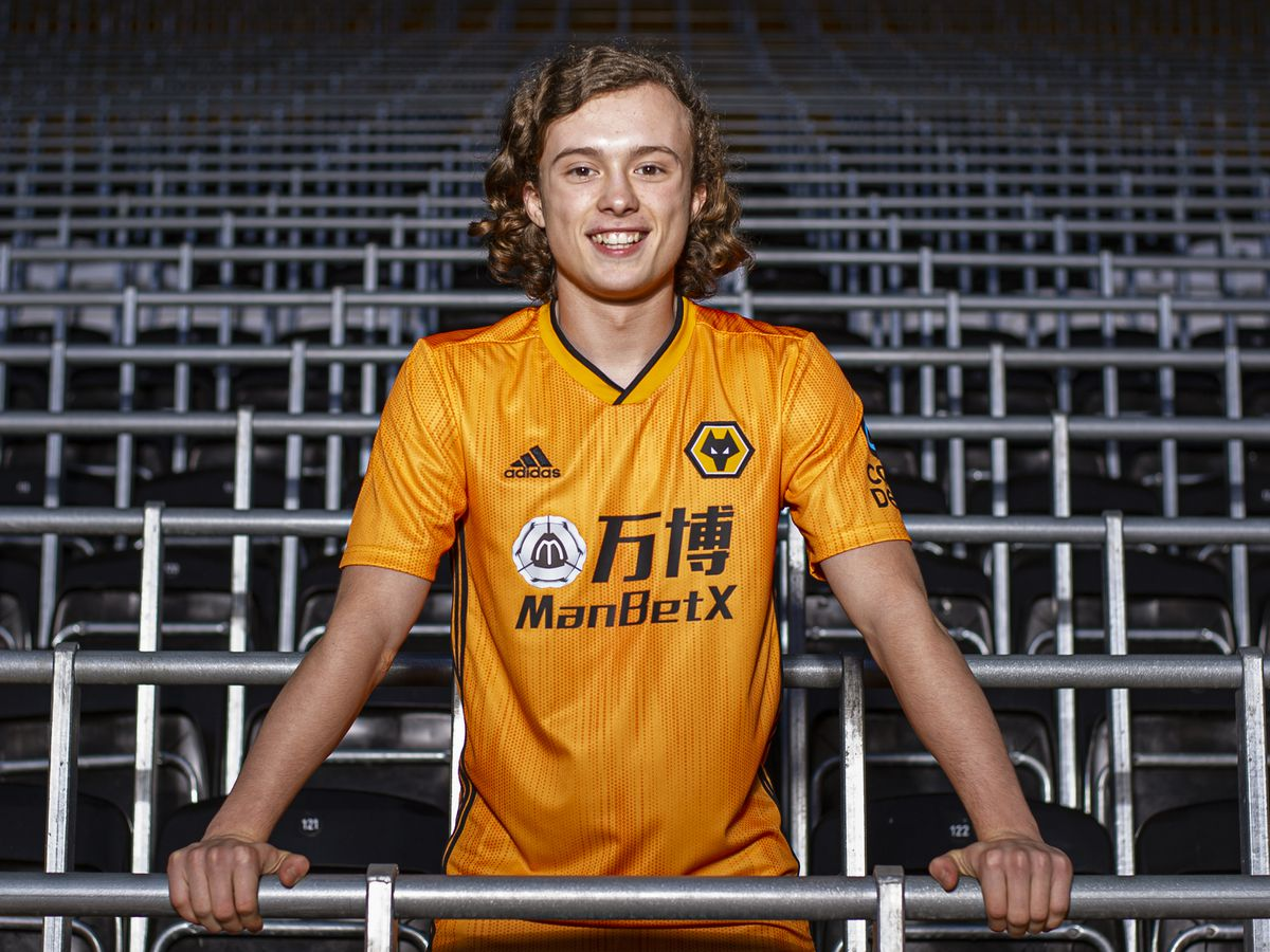 New Wolves signing Luke Matheson (Credit: Wolves)