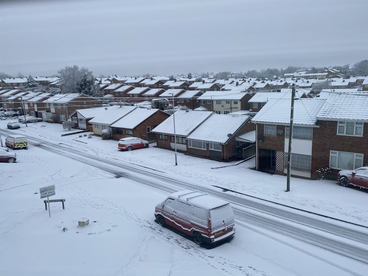 Snow in Burntwood. Photo: Lisa O'Brien