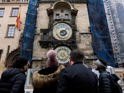 Prague's famous astronomical clock restored to former glory