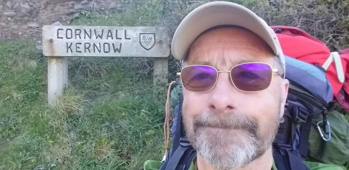 Alan reaches Cornwall