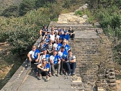 Blind Dave celebrates team effort after Great Wall of China triumph