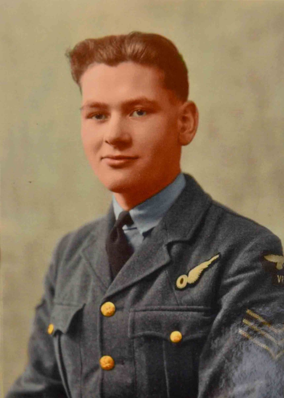 Ron Tomlin in his RAF days, circa 1942