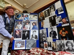 Wolverhampton man shows off star-studded autograph collection