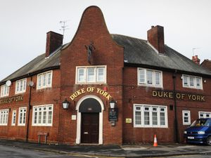 The Duke of York pub in Chuckery, Walsall