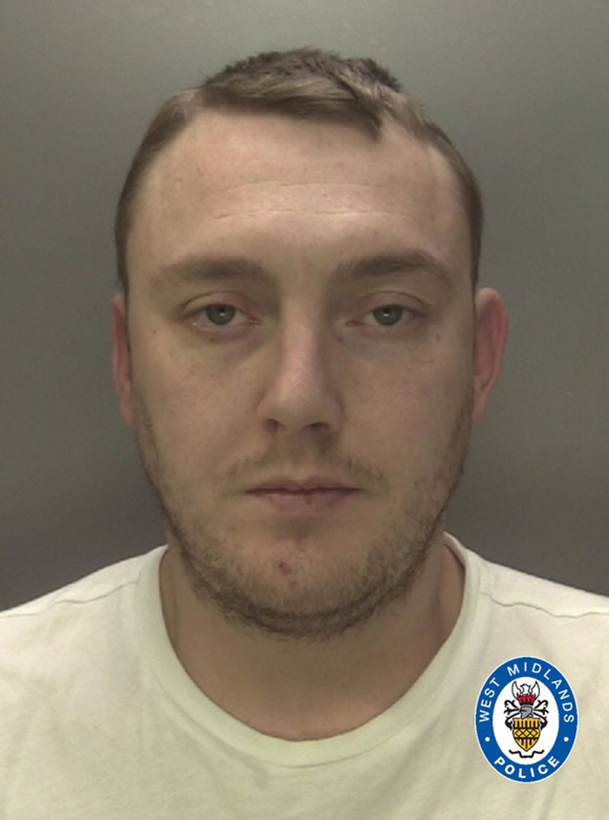 Karl Jarvis was seen brandishing a knife and threatening violence in the One Stop shop