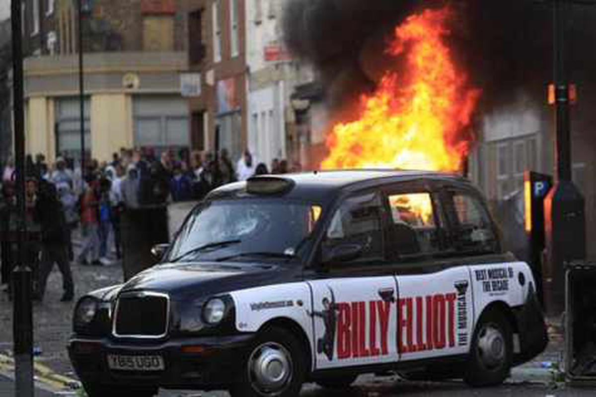 Birmingham Riots City Is Swept By Looting Terror Express Star