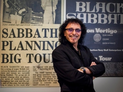 Birmingham Black Sabbath idol Tony Iommi wins Kerrang! Icon Award