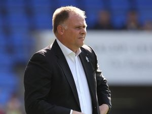 Neil McDonald the head coach / manager of Blackpool.