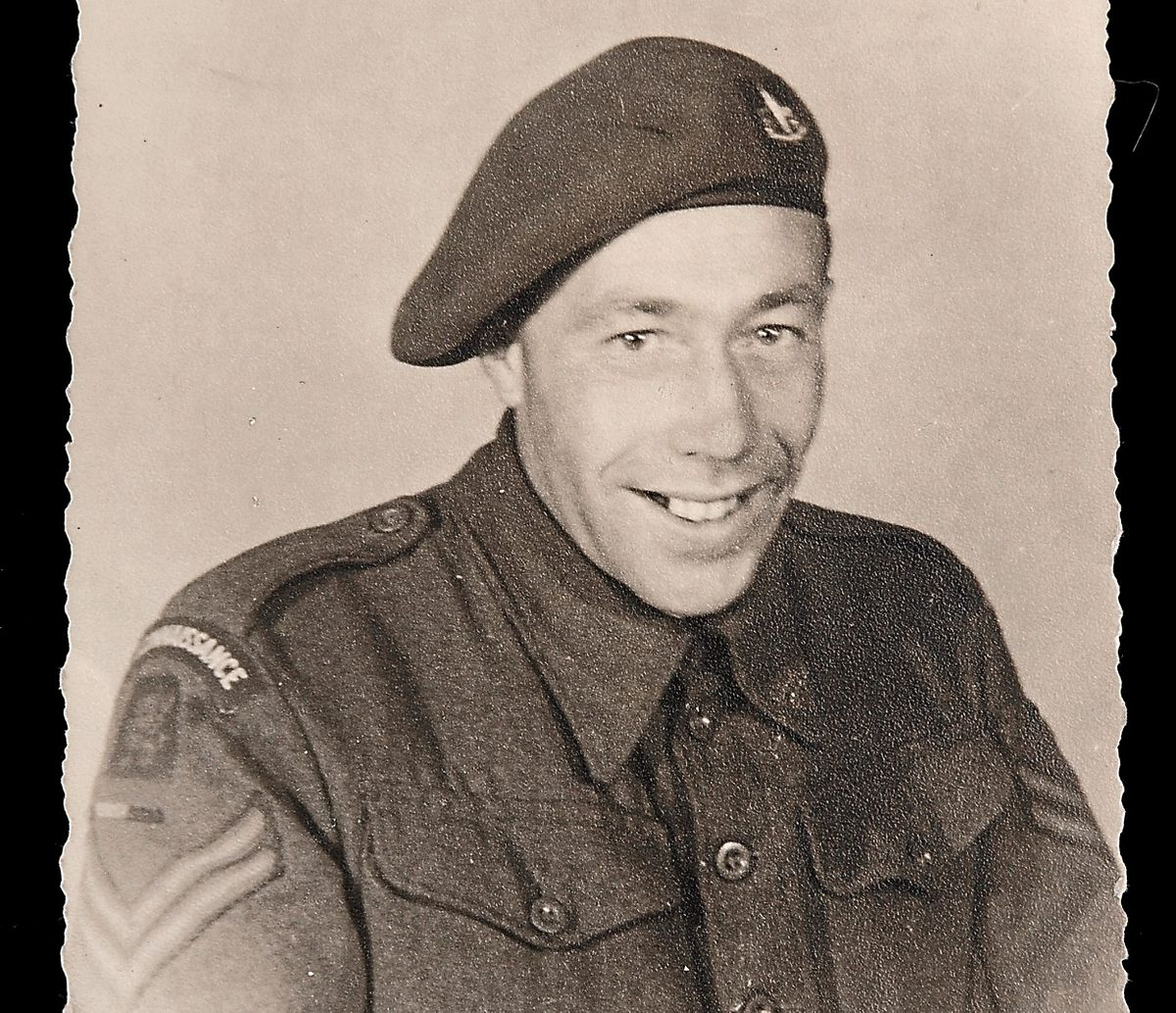 Sgt George H Rowson seized the watch from a German frogman commando in 1944