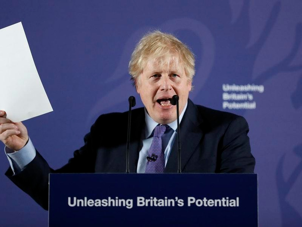 Brexit: Boris Johnson sets out vision of UK-EU trade deal