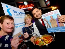Curry night kicks off special campaign to help trafficking victims