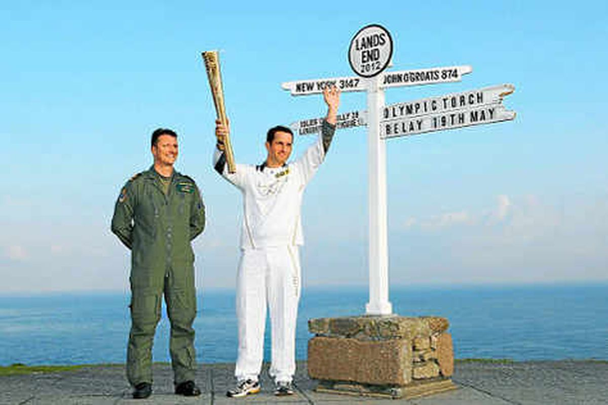Olympic flame starts journey to Midlands
